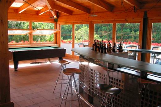 Bungalows Bon Repos bar