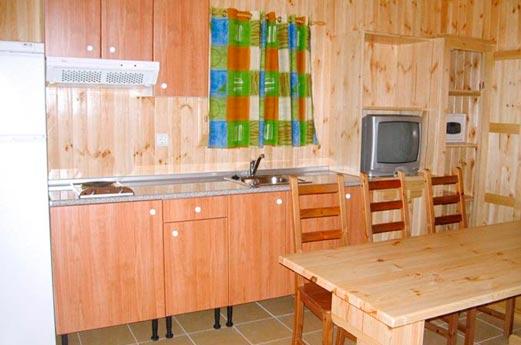 Camping Bon Repos keuken