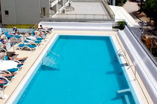 Appartementen Odissea Park zwembad