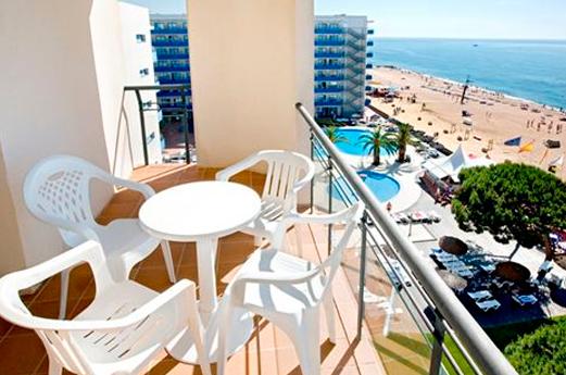 Appartementen Thalassa balkon
