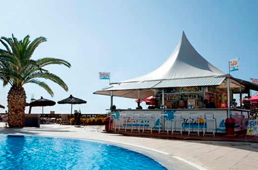 Appartementen Thalassa poolbar