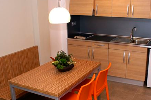 Appartementen Odissea Park keuken