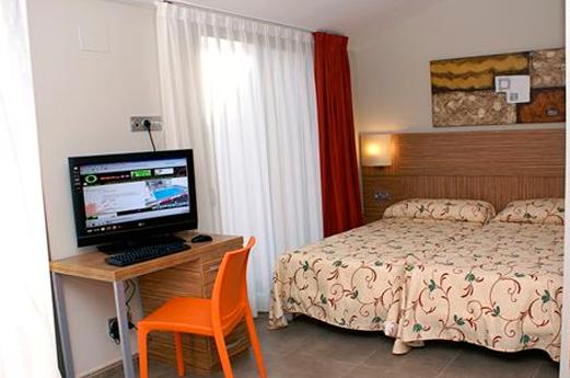 Appartementen Odissea Park slaapkamer