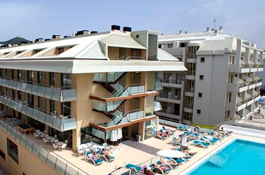 Appartementen Odissea Park voorkant