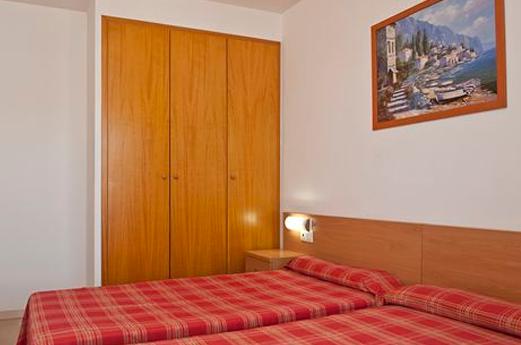 Appartementen Thalassa slaapkamer